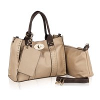 MKF Collection by Mia K. Elissa Satchel Handbag