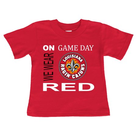 - Louisiana Lafayette Ragin Cajuns On Game Day Baby/Toddler T-Shirt