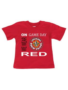 Louisiana Lafayette Ragin Cajuns On Game Day Baby/Toddler T-Shirt