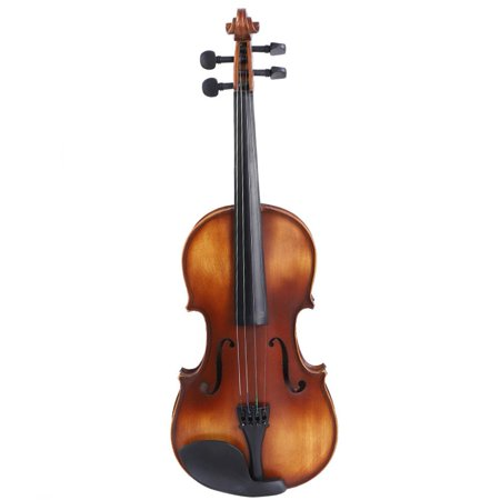 Door Trophy Case Wood Veneer - HERCHR 4/4 Spruce Retro Violin AV-508, Violin with Case, Fiddle, Spruce Wood Violin with Storage Case Bow Rosin Accessories for Learners Beginners