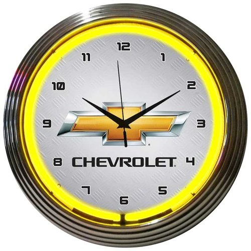 Neonetics 15'' Gm Chevrolet Wall Clock