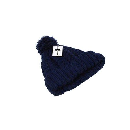 1a29067086c TopHeadwear Crochet Knit Pom Cuff Beanie (2 pack)