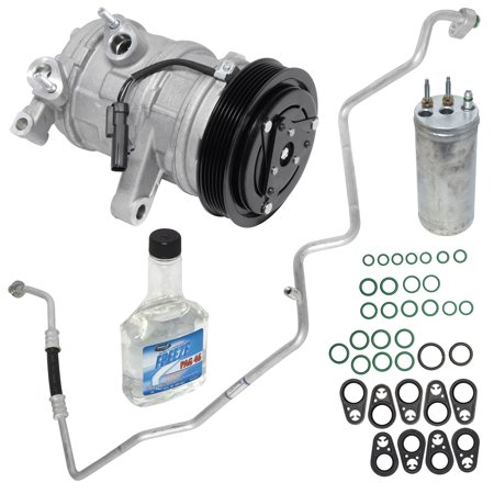 New Replacement Accessories Kit - New A/C Compressor and Component Kit 1051648 - 55111400AB Liberty