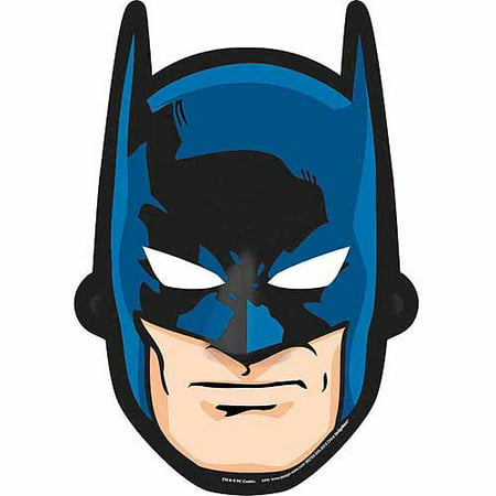 Batman masks for Batman face mask template
