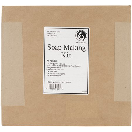 Halloween Soap Making (LorAnn Oils Soap Making Kit: Includes glycerin soap base, liquid colors, molds, fragrances, cocoa)
