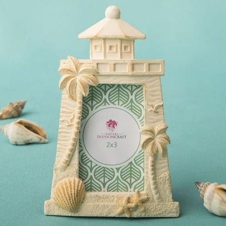 Fashioncraft Beach Themed Light House Design Frame (Beach House Design)