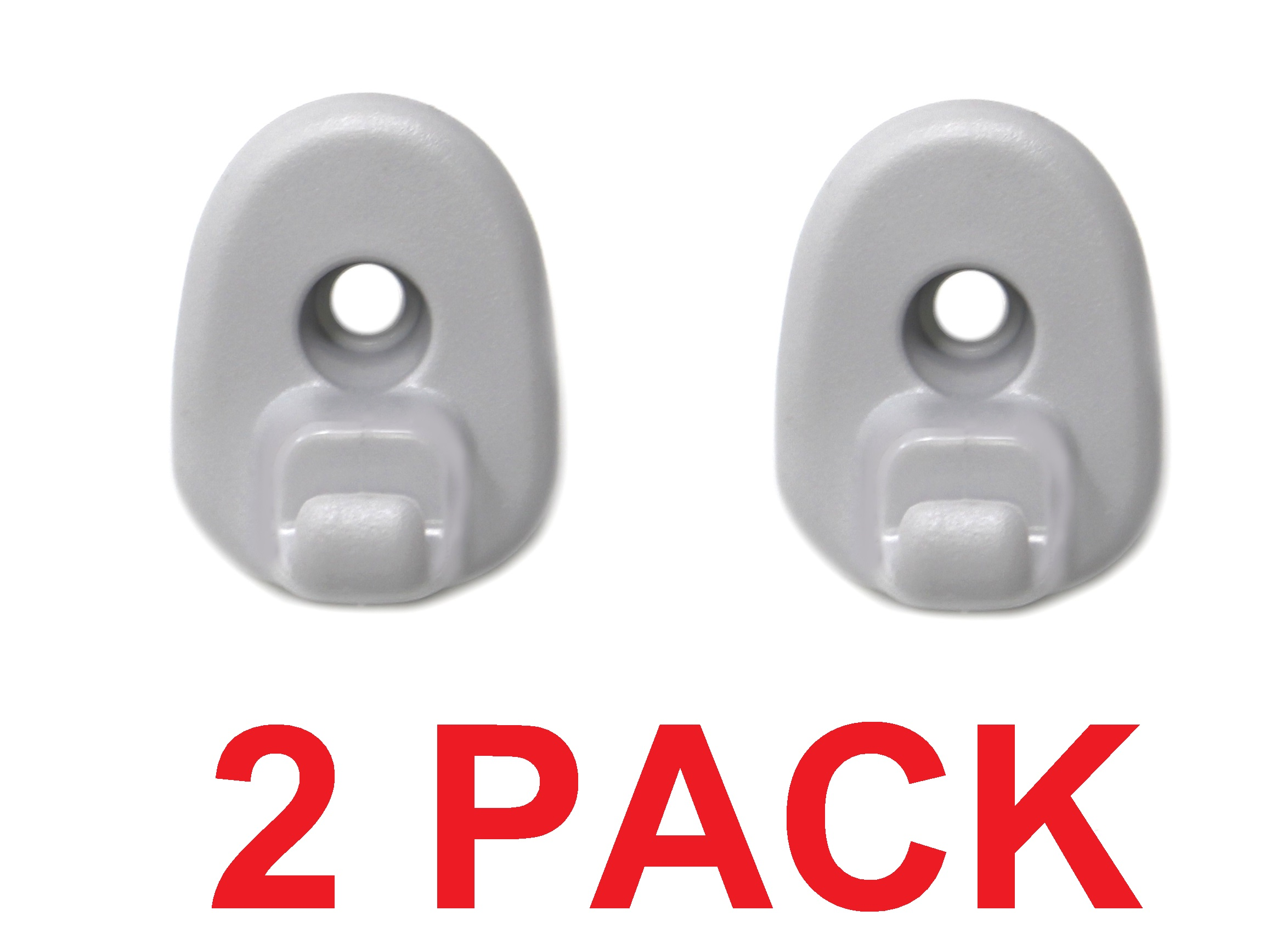 2Pack Sun Visor Clip Replacement Retainer Fits for Jeep Liberty /& Dodge Nitro