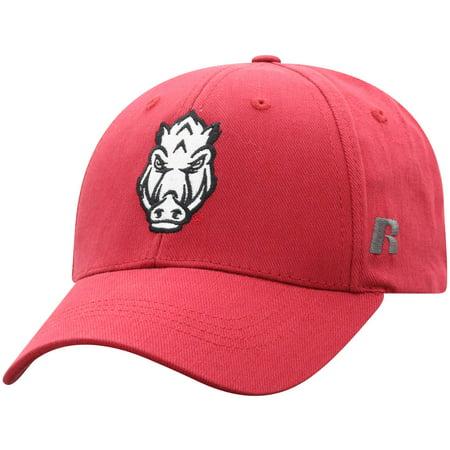 Men's Russell Cardinal Arkansas Razorbacks Endless Adjustable Hat - (Hat Cardinal's)