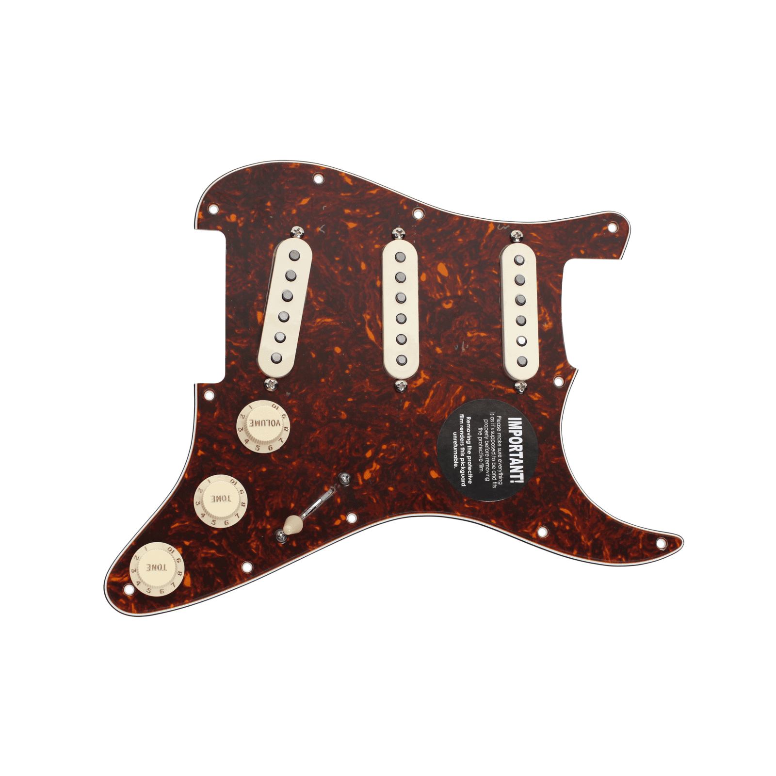 DiMarzio Area 58 Area 61- Lincoln Brewster Loaded Pickguard Prewired TO AW by