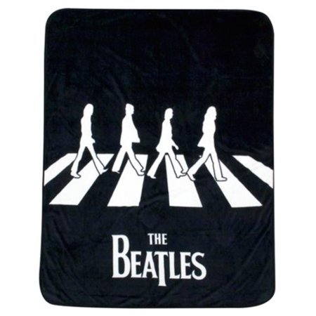 The Beatles 40 By 40 Plush Throw Blanket Walmart Awesome Beatles Throw Blanket