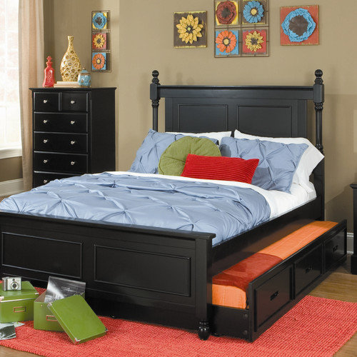 Woodhaven Hill Morelle Panel Bed with Trundle