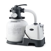Deals on Intex 14-In Krystal Clear Saltwater System and Sand Filter Pump