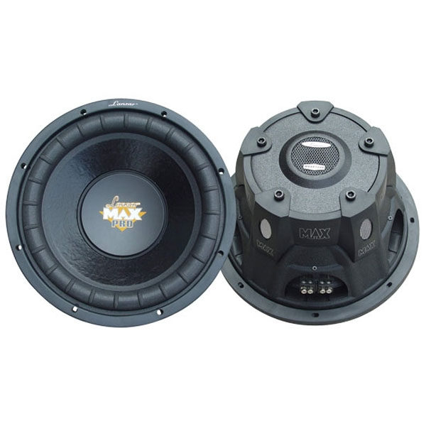 "Lanzar Max Pro 15"" 2000 Watt Small Enclosure Dual 4 Ohm Subwoofer"