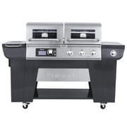 Cuisinart Twin Oaks Dual Function Pellet and Propane Gas Grill