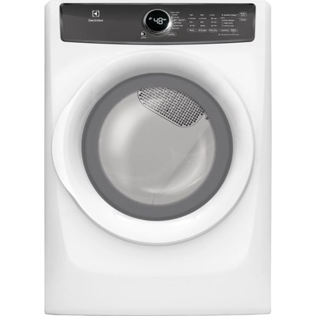 Electrolux EFME427UIW 8.0 Cu. Ft. White Electric Dryer with