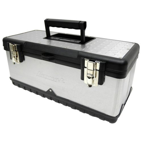 Homak Stainless Steel Toolbox