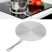 WALFRONT Stainless Steel Heat Diffuser Converter for Gas/Electric/Induction Cooker Household Supply, Induction Cooker Heat Diffuser, Cooker Accessories