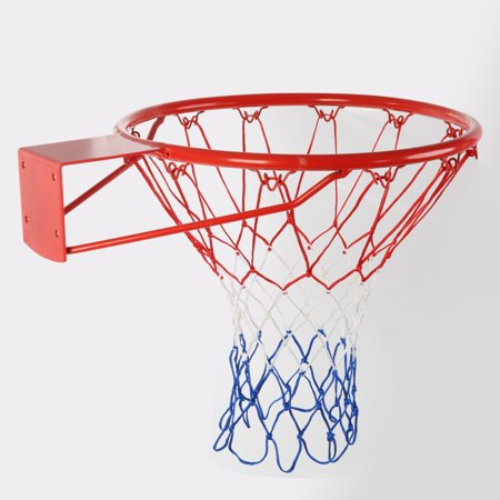 AngelCity Outdoor Indoor Hanging Wall Mount Basketball Rim Hoop And Net For Adult Kids