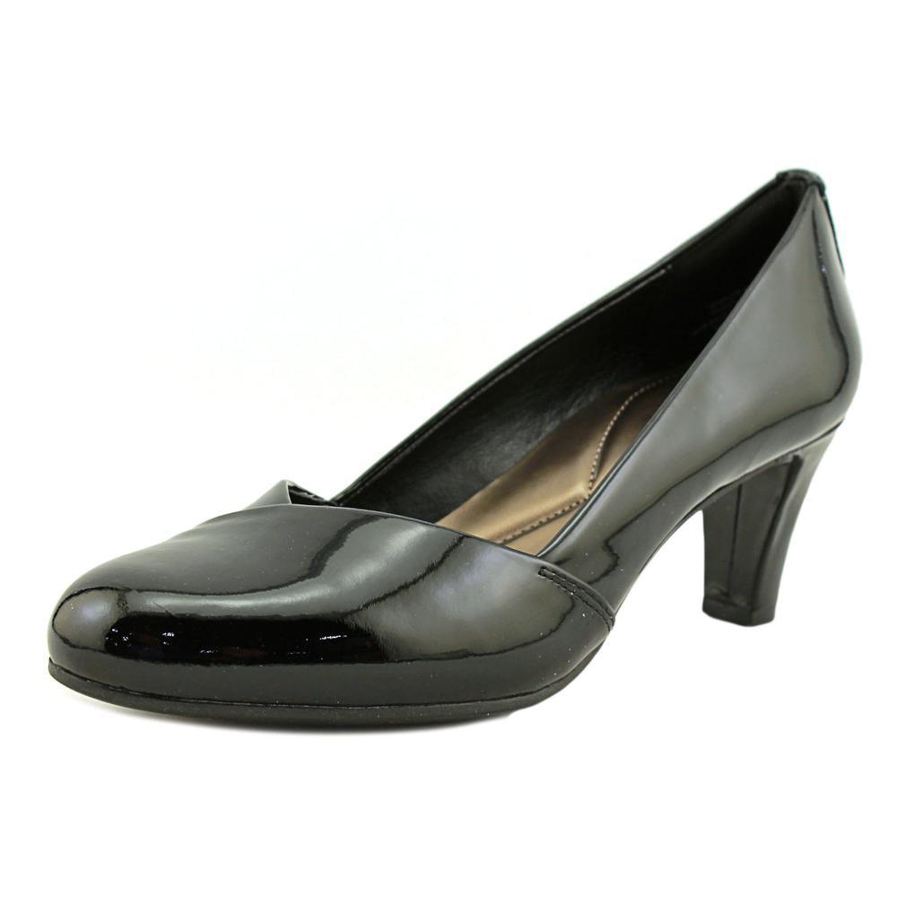 276b93c48f9 Easy Spirit - Easy Spirit Albie Round Toe Patent Leather Heels - Walmart.com