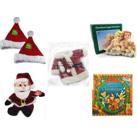 Christmas Fun Gift Bundle [5 Piece] - Be Jolly Santa Sparkle Hat 17
