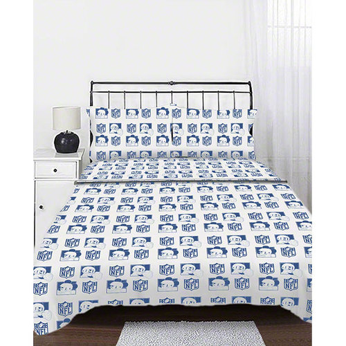 NFL - Disney New York Giants Disney Mickey Mouse Full Sheet Set
