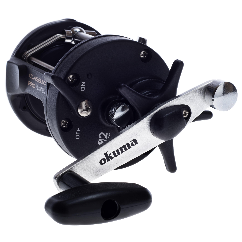 Okuma Classic Pro CL 302L Troll Fishing Reel