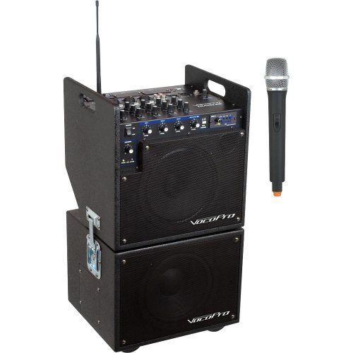 Vocopro MOBILEMAN1 Battery Powered Pa W  Subwoofer by VocoPro