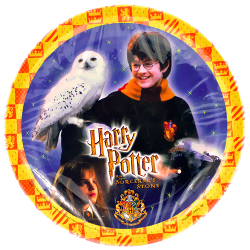 Harry Potter 'Sorcerer's Stone' Large Paper Plates (8ct)