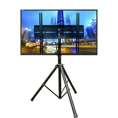 DURAMEX (TM) Universal Mobile Portable Tripod TV Stand with Mount for 32 - 55 inch LED, LCD, Plasma, and Curved Displays up to 110 lbs - image 6 of 6