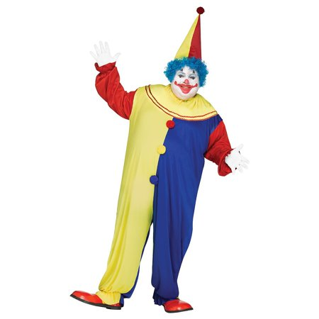 Plus Size Clown Costumes (Party Clown Adult Costume - Plus)