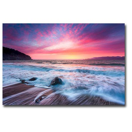 Distant Glow by Dave Gordon Premium Gallery-Wrapped Canvas Giclee Art - Ready-to-Hang, 24 x 36 x 1.5 in. - image 1 de 1