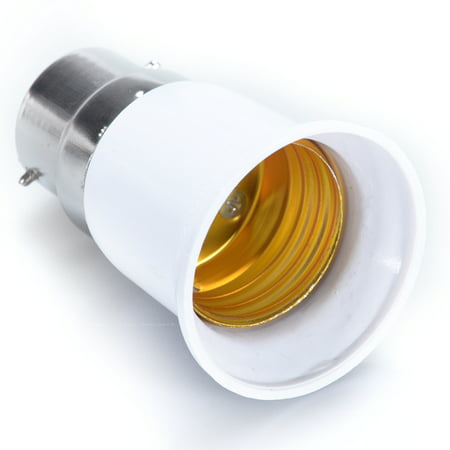 B22 to E27 Light Lamp Bulb Socket Base Converter Edison Screw to Bayonet (Bayonet Base Lamp)