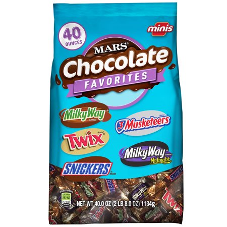 Mars Minis Size Chocolate Candy Bars Variety Pack, 40 Oz. - Candy Bar Halloween Dresses