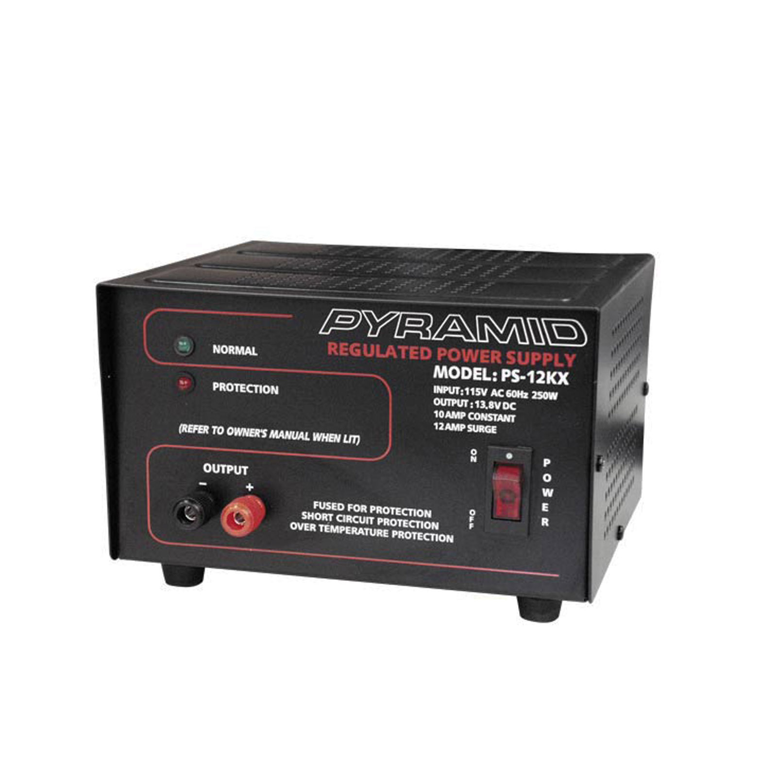 Pyramid 10 Amp Power Supply