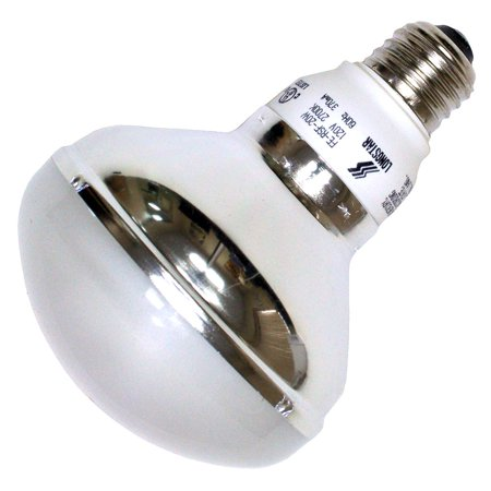 LongStar 00379 - R30 FE-RSF-20W/27K Flood Screw Base Compact Fluorescent Light (R30 Dimmable Compact)
