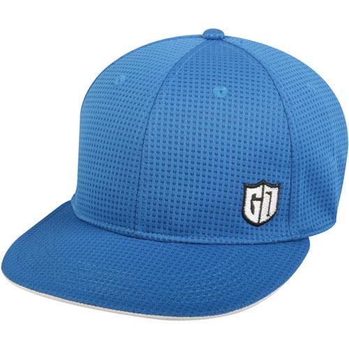 Men's Stretch Performance Golf Cap, Blue