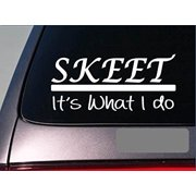 Skeet sticker decal *E259* clay target shotgun skeet shooting glasses shell 2a
