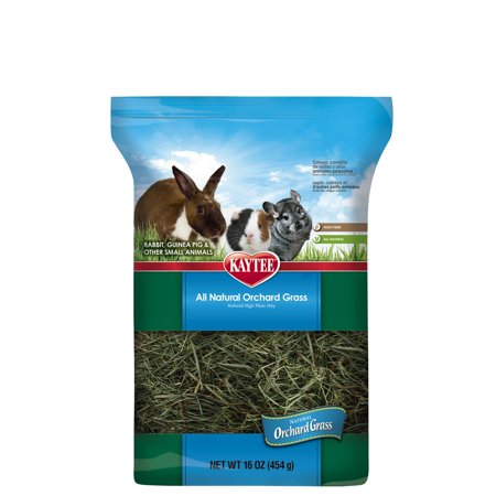 Kaytee All Natural Orchard Grass Small Animal Food, 16 Oz