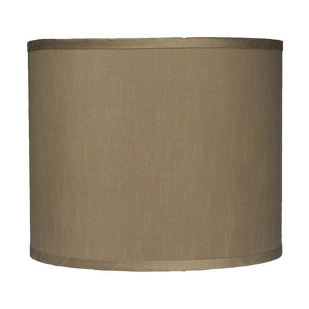 Urbanest Classic 12'' Faux Silk Drum Lamp Shade