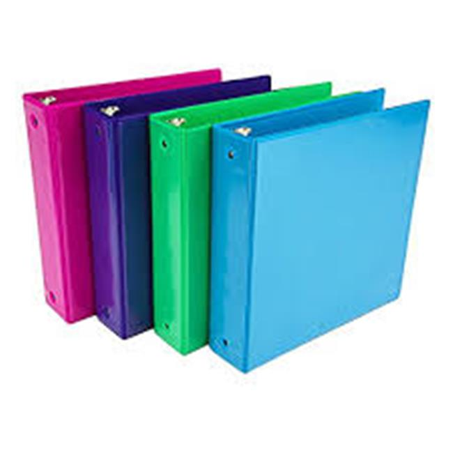1 in. Fashion Binder Diamnd Wave Design, Pack of 6