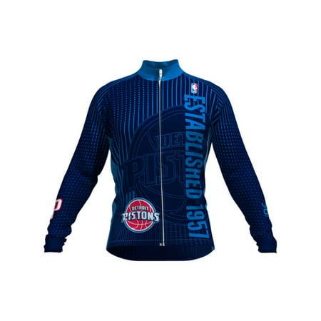 VOmax Womens Comfortable NBA Detroit Pistons Retro Long Sleeve Cycling  Jersey - Walmart.com 59085771ef