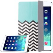 ULAK Apple iPad Air Folio Case, Slim Leather Smart Cover with Auto Sleep / Wake Feature for iPad Air (iPad 5th Generation) 2013 Model Cases (FOLLOW THE SKY)