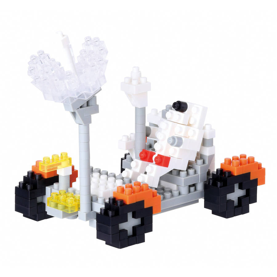 Nanoblock Level 3, Lunar Vehicle, 250 Pieces by Ohio Art