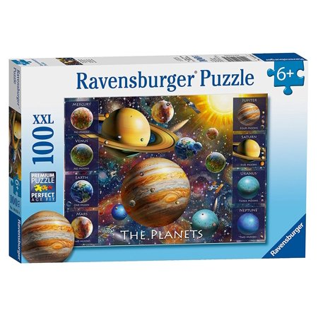 The Planets 100 Pcs    Jigsaw Puzzles By Ravensburger  10853