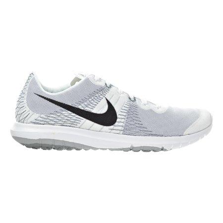 Nike Flex Fury Men s Shoes White Black Wolf Grey Cool Grey705298-100 ... ec31cf568