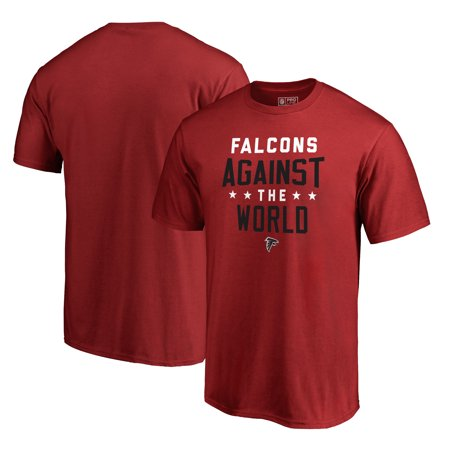 Atlanta Falcons NFL Pro Line by Fanatics Branded Against The World T-Shirt - - Red Nfl Equipment