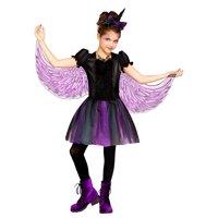 Moonlight Unicorn Girls Childs Dark Fantasy Halloween Costume