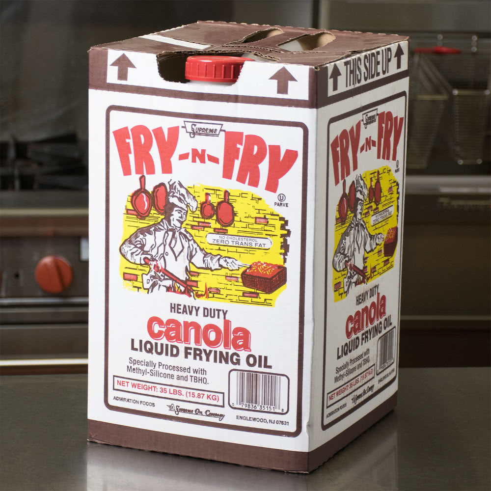 Fry-N-Fry Canola Oil | 1/35lb/Bag