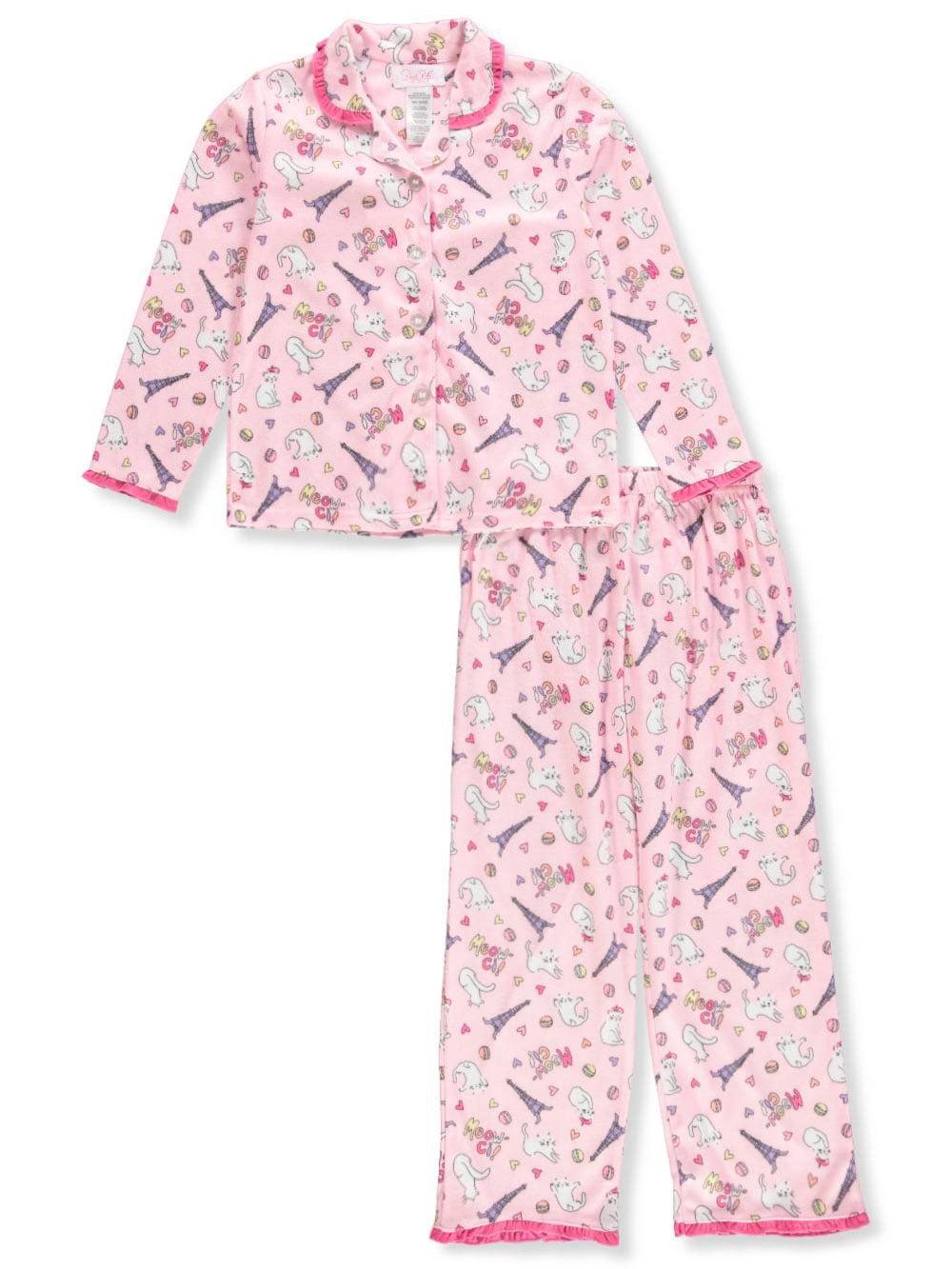 Rene Rofe Girls' 2-Piece Pajamas