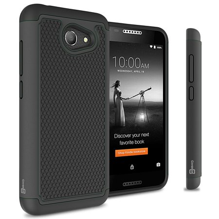 CoverON Alcatel A30 / Zip / Kora Case, HexaGuard Series Hard Phone Cover  (NOT FIT A30 TABLET)